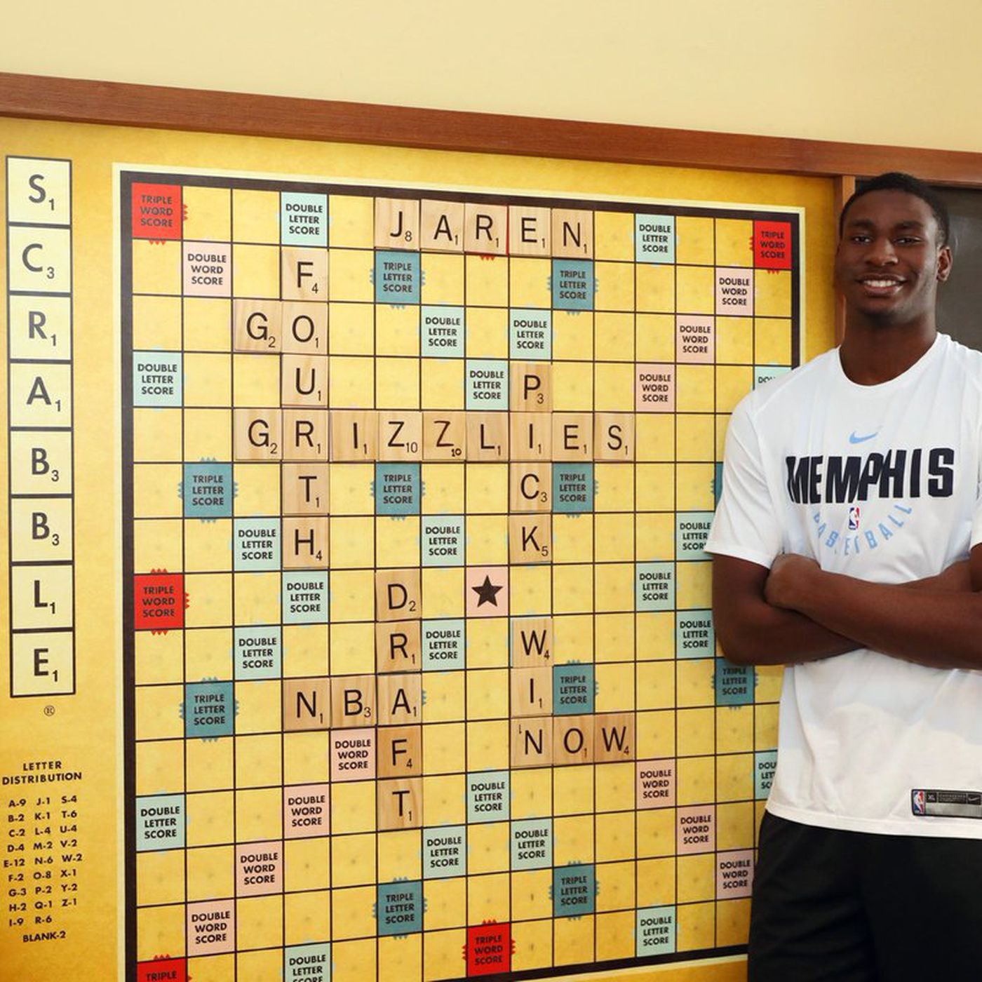 The Memphis Grizzlies Tweeted An Affront To The Game Of Scrabble