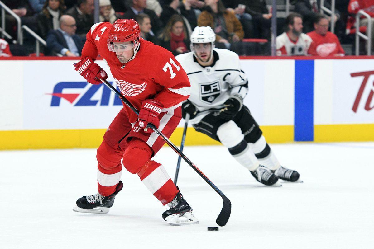 NHL: Los Angeles Kings at Detroit Red Wings