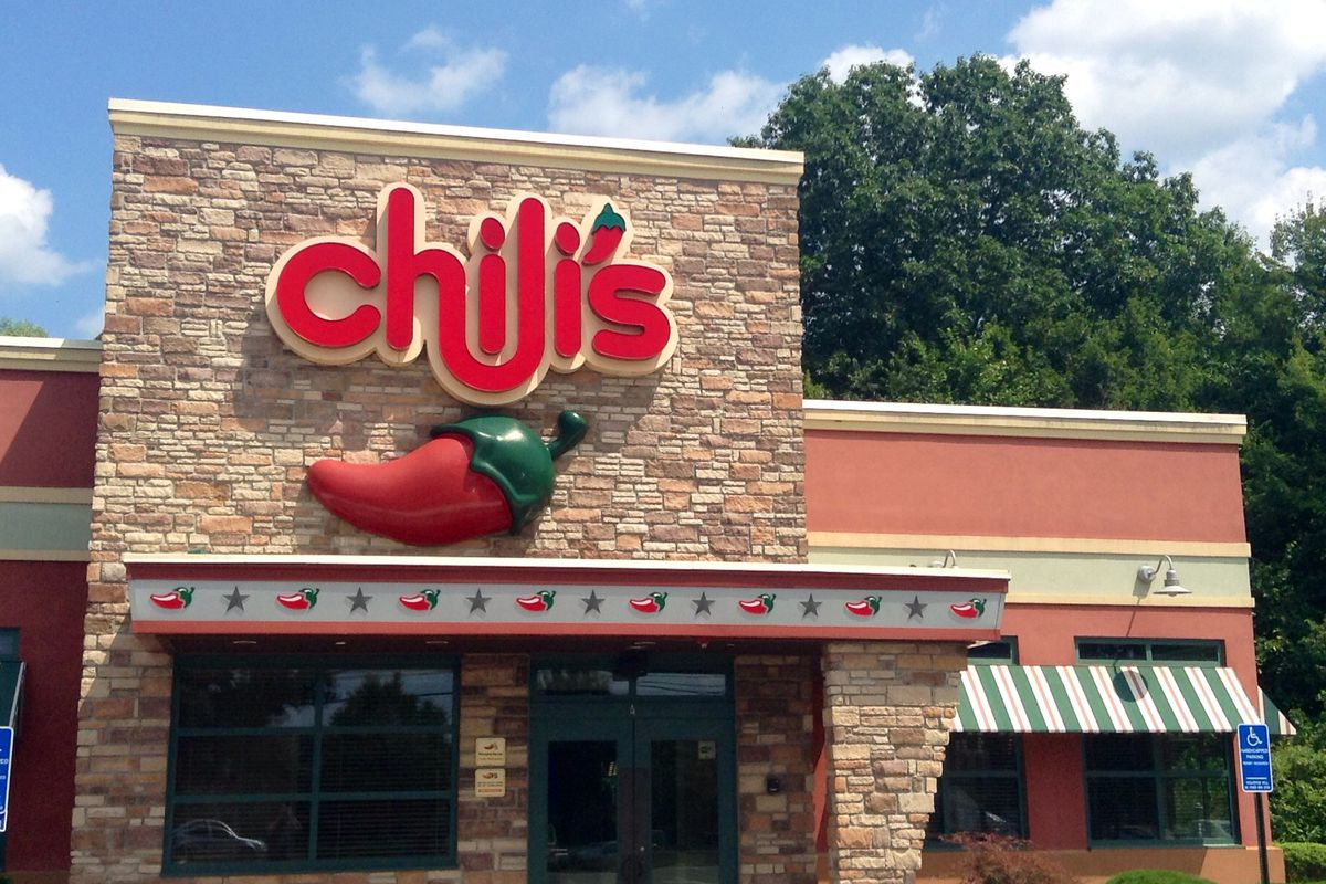 The exterior of a Chili's restaurant