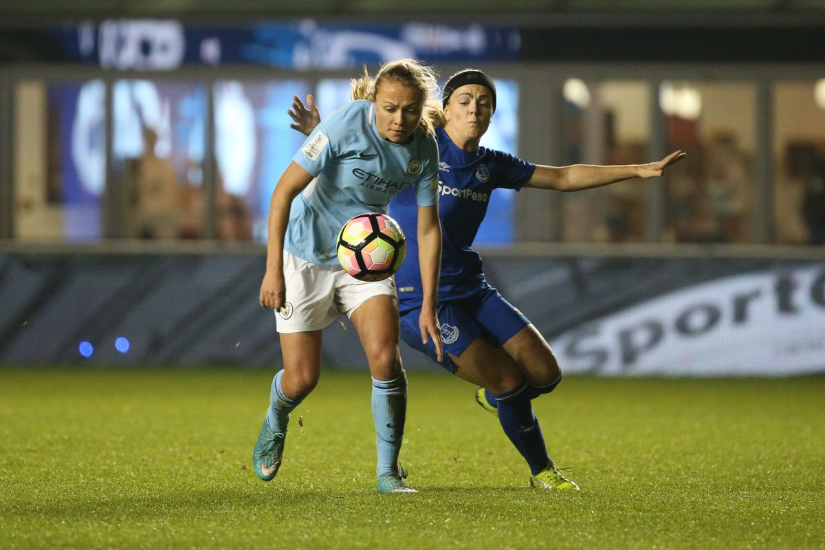 Manchester City Women v Everton Ladies FC - FA WSL Continental Tyres Cup