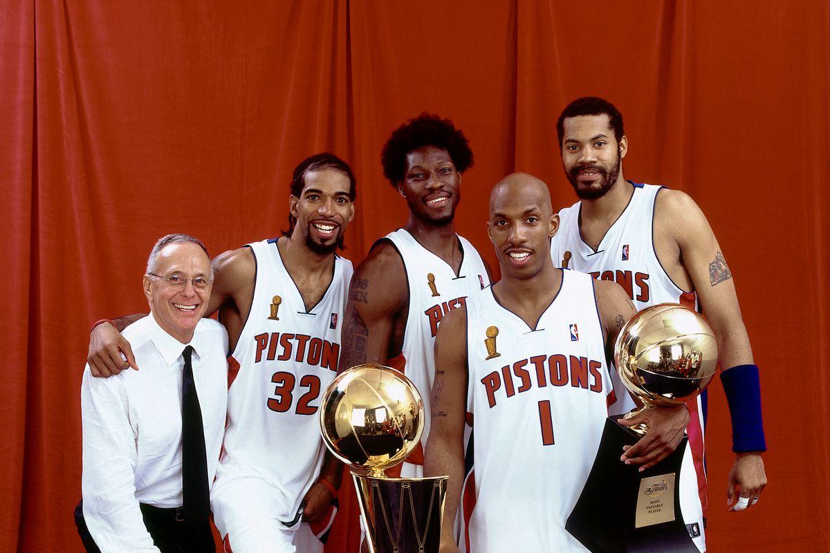 Very Good Game Alert Fox Sports Detroit Airing Game 1 Of 2004 Nba Finals Tonight Detroit Bad Boys