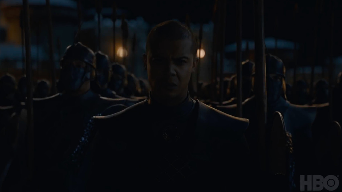 grey worm - game of thrones