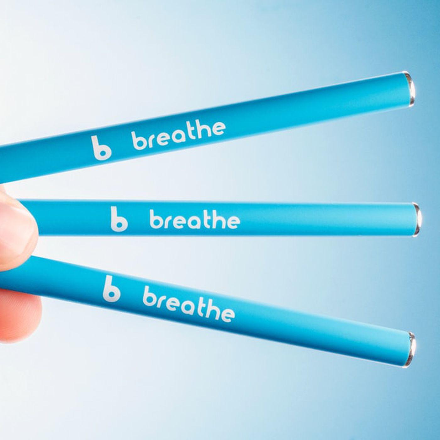 "Vitamin vaping ""wellness"" brands, like Monq and Breathe, are"