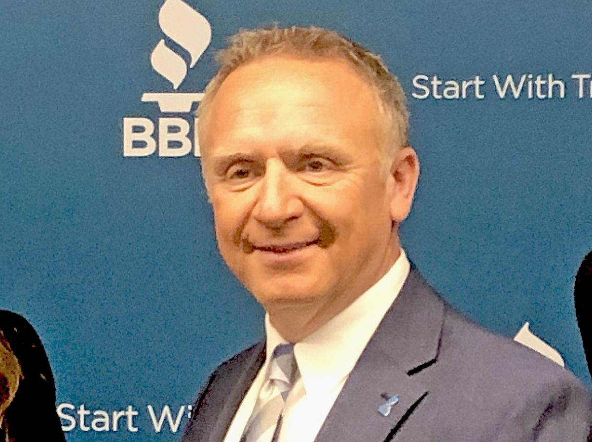 Steve Bernas, CEO of the Better Business Bureau of Chicago and Northern Illinois.