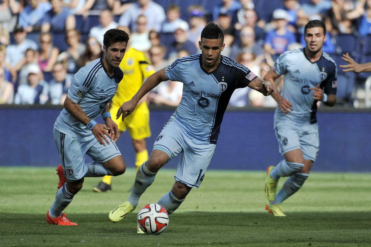 For all the absences KC will have today, we know these guys - Benny Feilhaber and Dom Dwyer - are gonna be there.