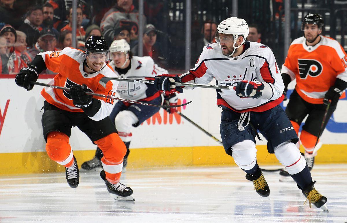 Washington Capitals v Philadelphia Flyers