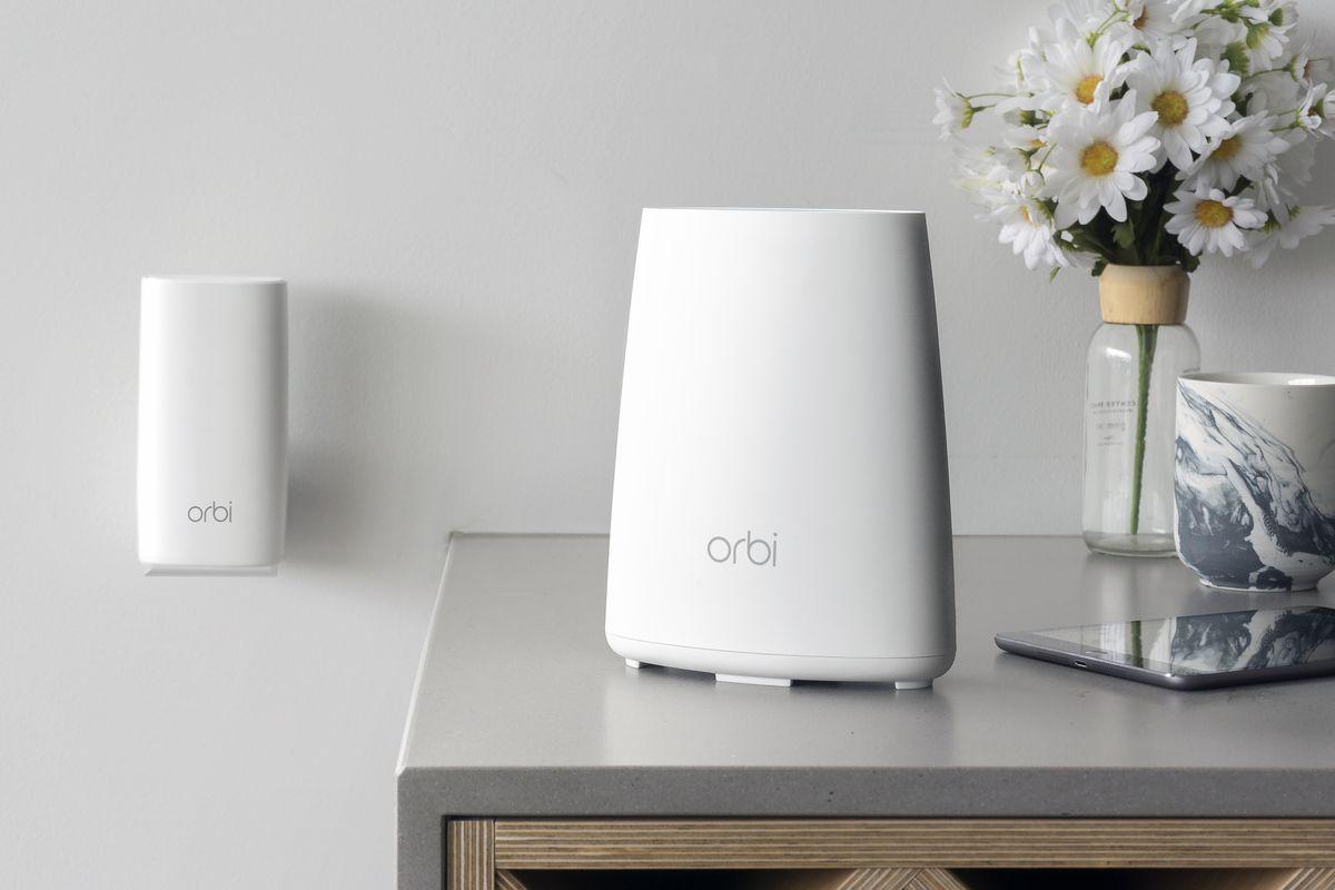 Netgear's new Orbi router looks like an oversized air