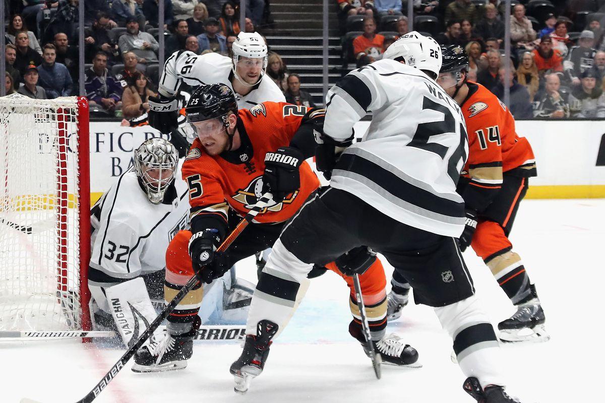 Anaheim Ducks vs Los Angeles Kings RECAP: We're Being Repressed