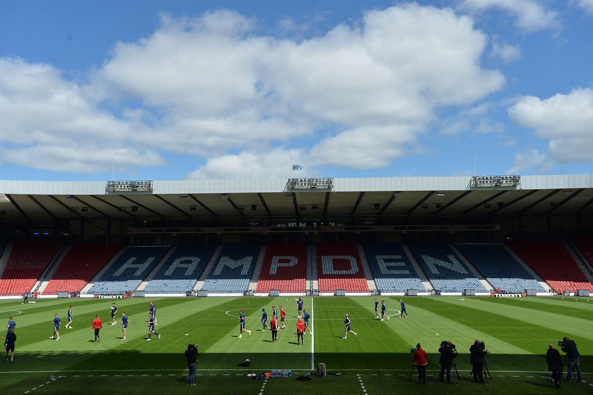 Scotland Training Session and Press Conference