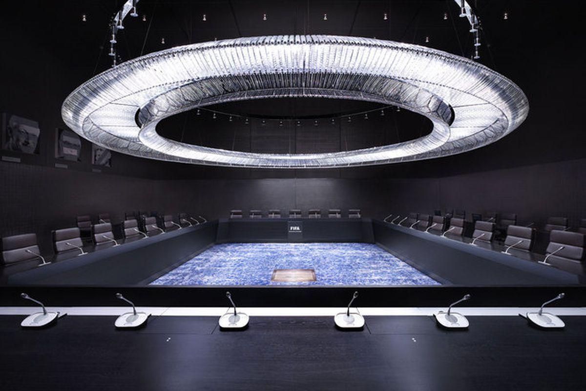 "FIFA Executive Committee, Zurich 2013. All images via <a href=""http://www.zanier.ch/"">Luca Zanier</a>"