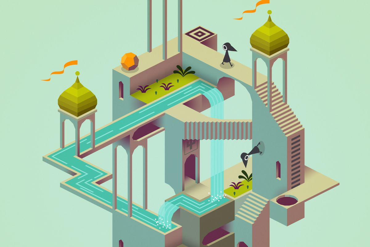 A scene from Monument Valley