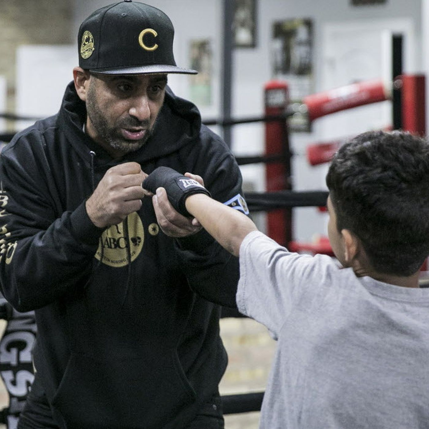 Kids Flock To New Austin Boxing Club Gift From Local