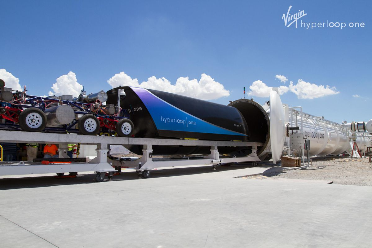 Image result for virgin hyperloop one