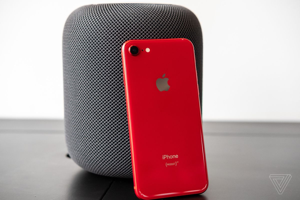 newest fcf25 ca45e A close look at Apple's red iPhone 8 - The Verge