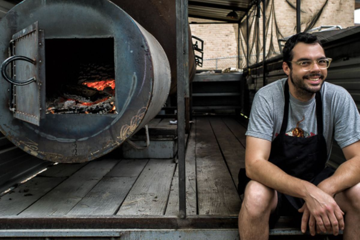 America's barbecue sweetheart, Mr. Aaron Franklin.