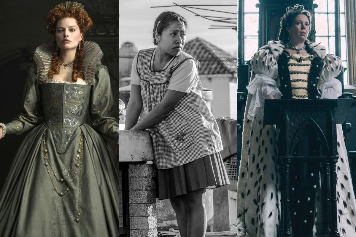 Roma Film: From Mary Queen Of Scots To Roma, 2018 Movies Pushed Men