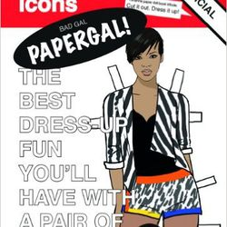 "Rihanna paper doll set, <a href=""https://www.shopbop.com/paper-dolls-rhianna-books-style/vp/v=1/1557810092.htm?folderID=2534374302182580&fm=other-viewall&os=false&colorId=13153"">$13</a> at Shopbop"