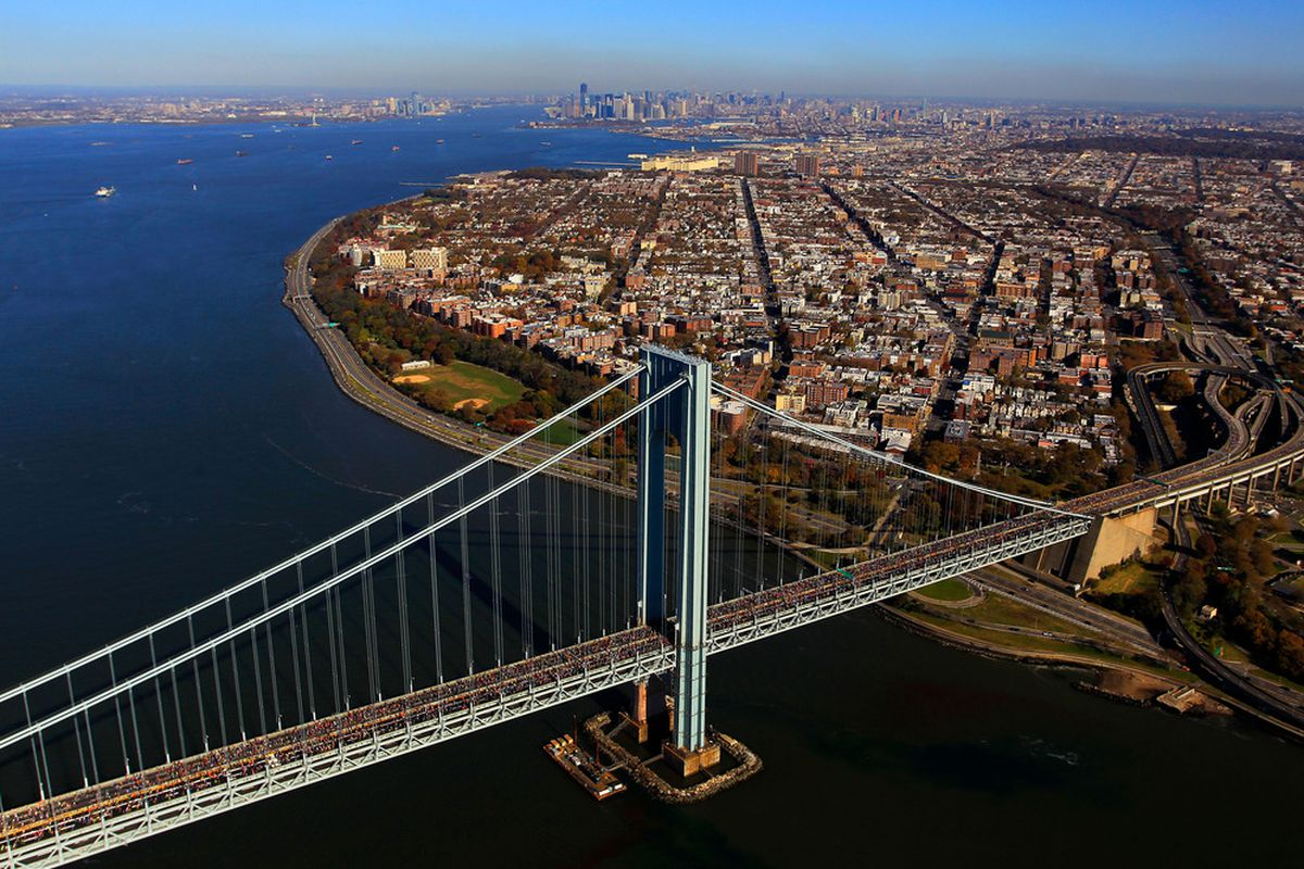 Getting a picture of the horse Verrazano must simply be a bridge too far.