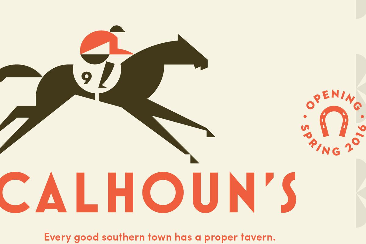 Branding elements for Calhoun's