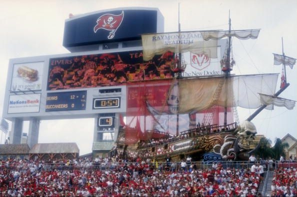 Raymond James Stadium was built just 17 years ago, but some think it's already outdated. (Courtesy of Scott Halleran)