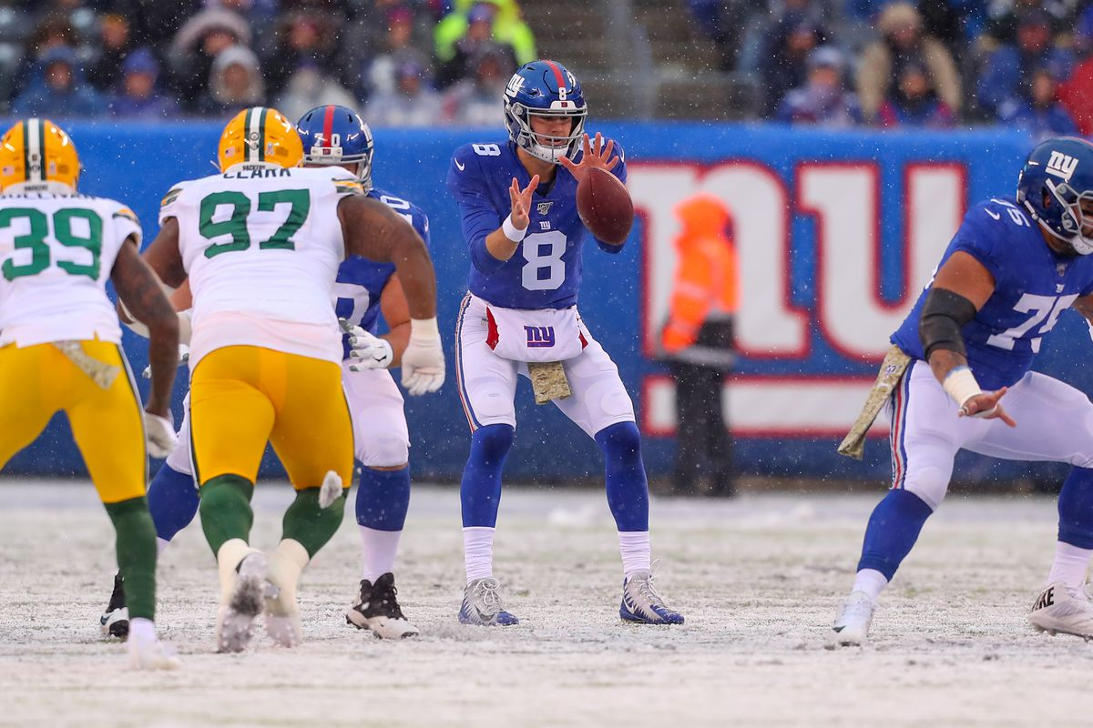 NFL: DEC 01 Packers at Giants