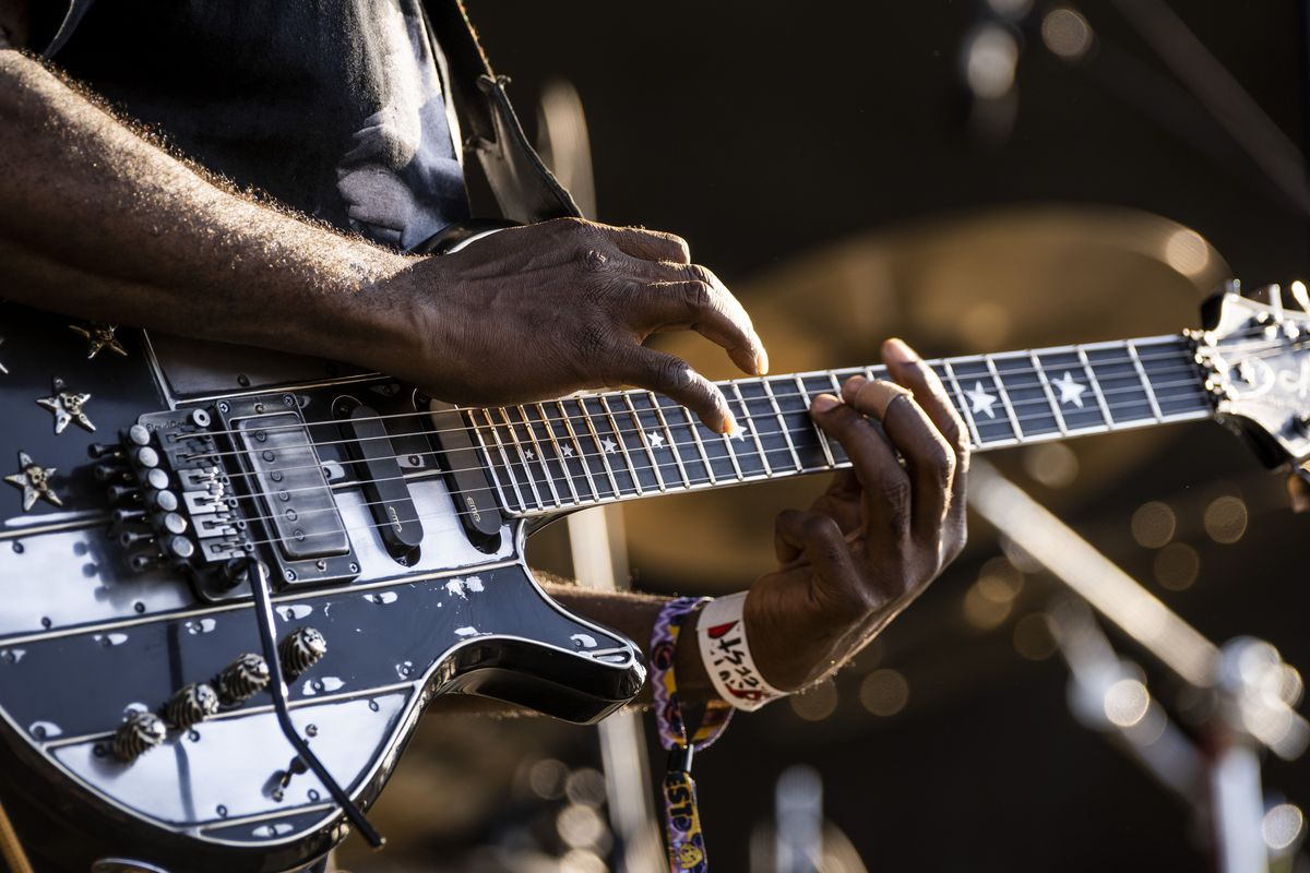 Living Colour performs Friday night at Riot Fest in Douglass Park.