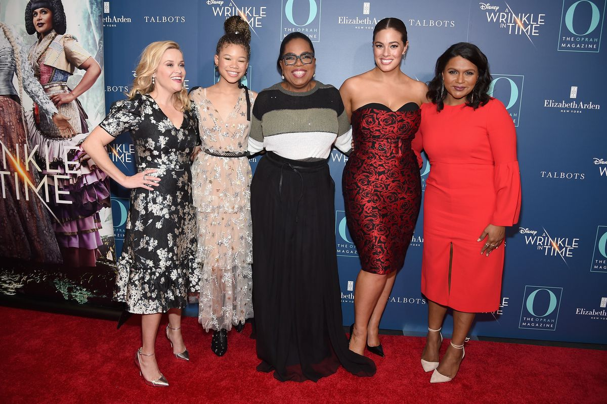 O, The Oprah Magazine Hosts Special NYC Screening Of 'A Wrinkle In Time' At Walter Reade Theater