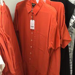 Dropped waist shirt dress, $85 (was $265)