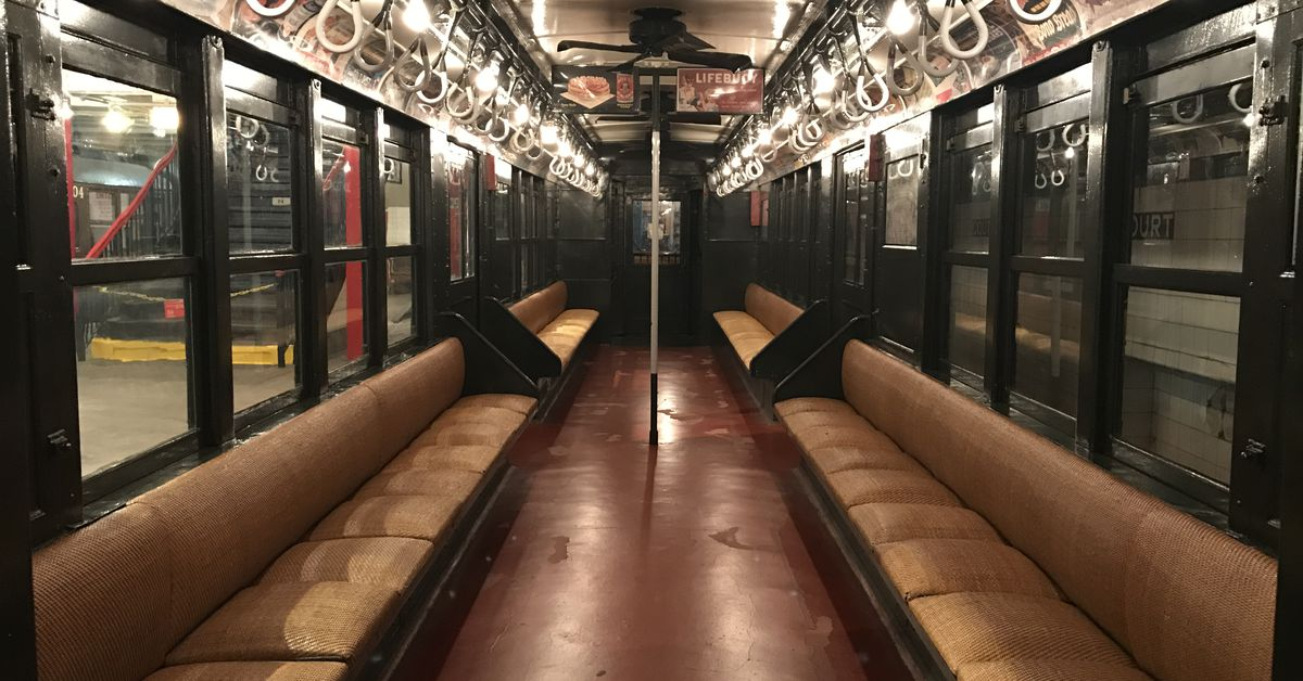 New York Transit Museum S Vintage Subway Trains Return For
