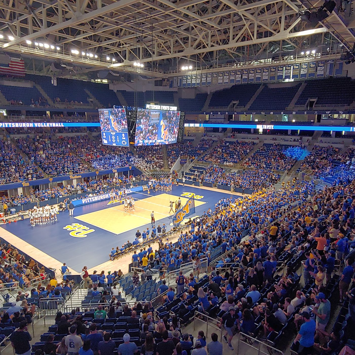 Pitt Volleyball Sets Attendance Record With Penn State Match