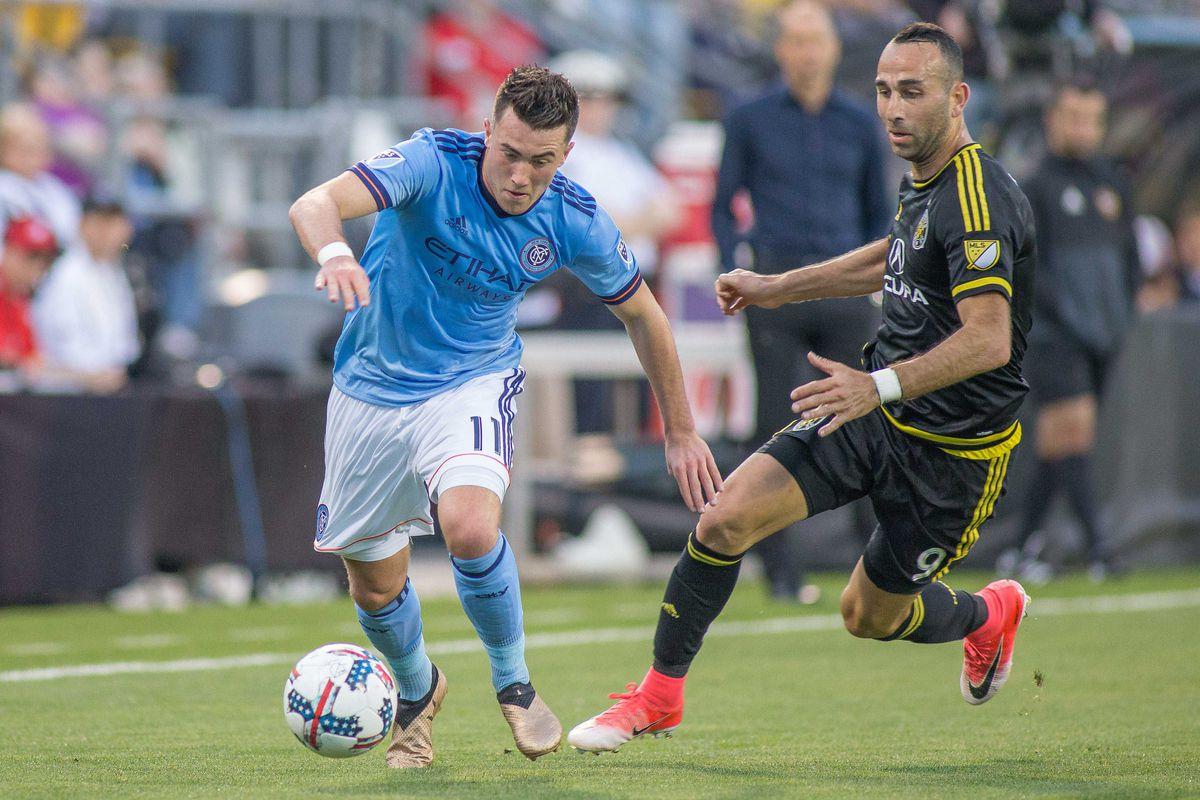 MLS: New York City FC at Columbus Crew SC