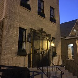 The renovated home at 1906 N. Hoyne features ornate doors.   Sun-Times staff