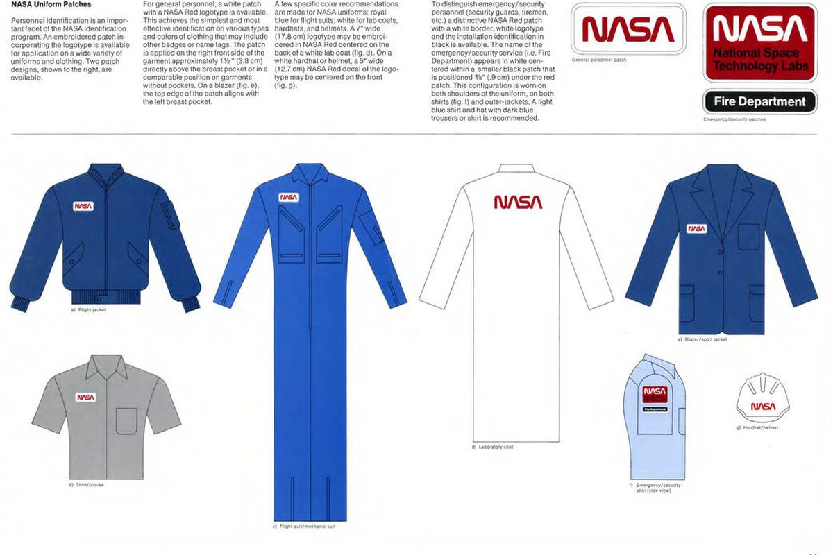 Nasa releases entire 1970s graphics standard manual online for Uniform spaces pdf