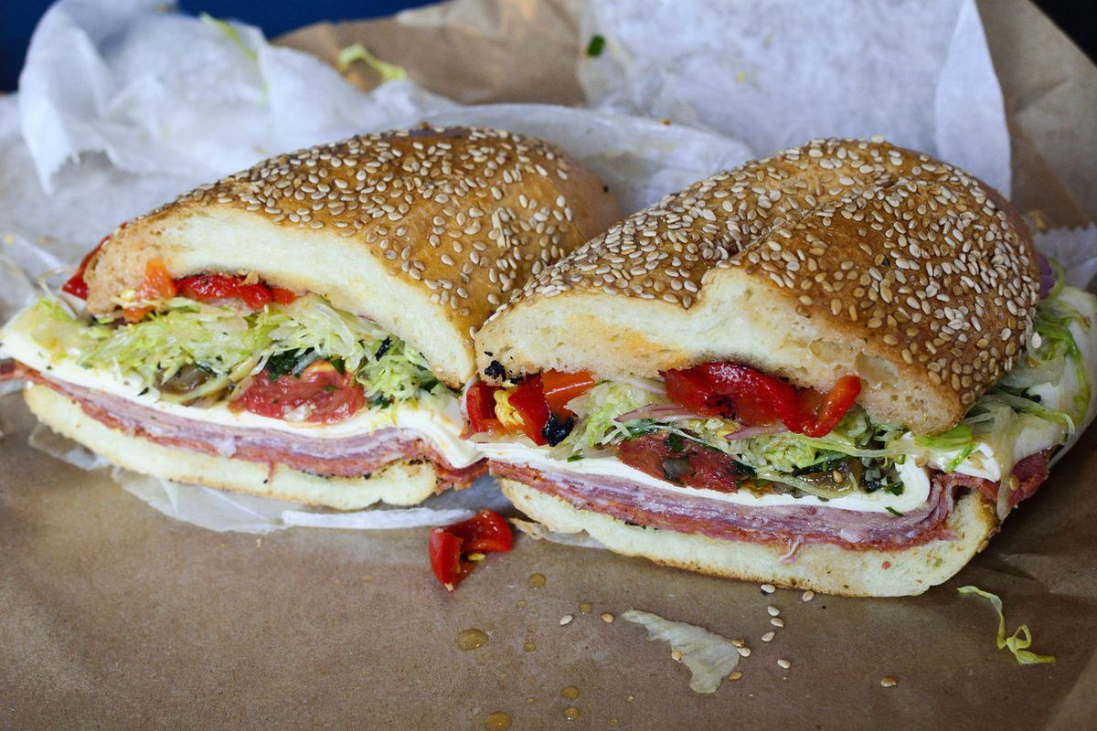 """Italian sandwich at Meat Hook Sandwich by <a href=""""https://www.flickr.com/photos/savoreverything/14614491023/in/pool-eater/"""">savoreverything"""