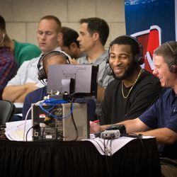 Drummond talks with Pistons great Isiah Thomas on NBA TV