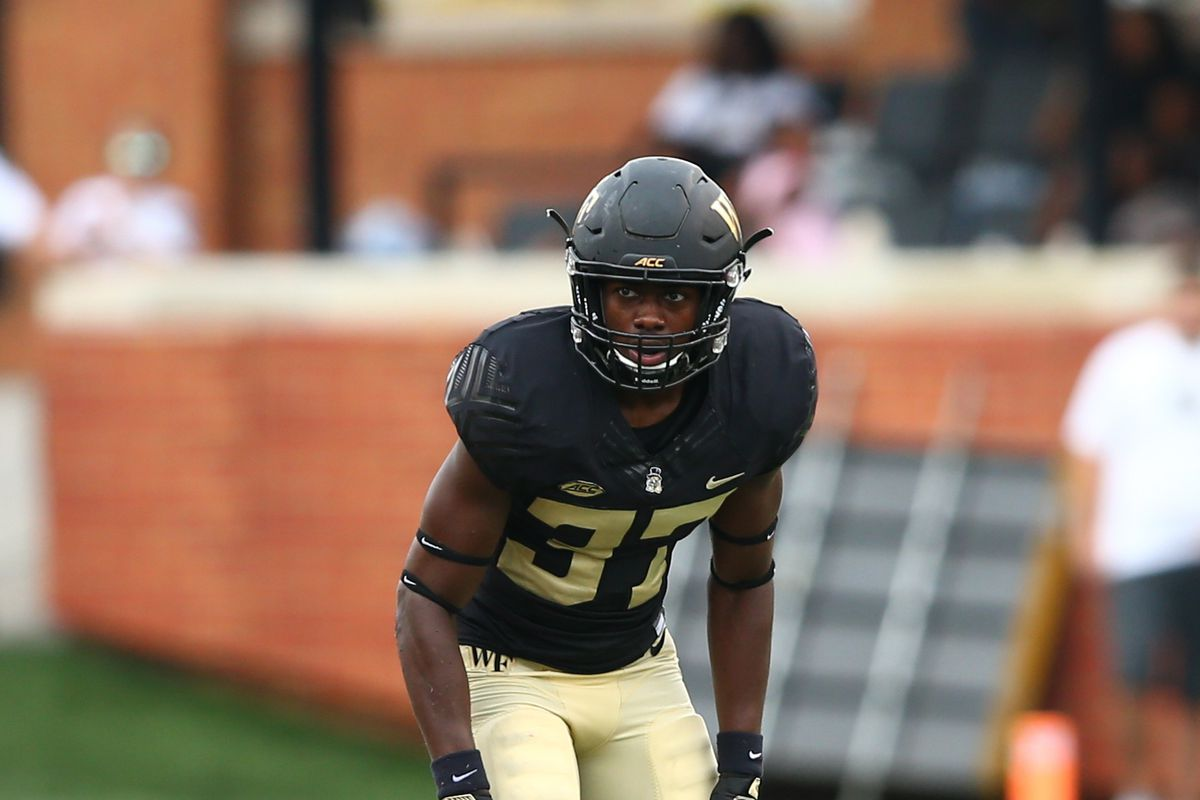 Jeremy Brevard Usa Today Sports The Wake Forest Football Depth