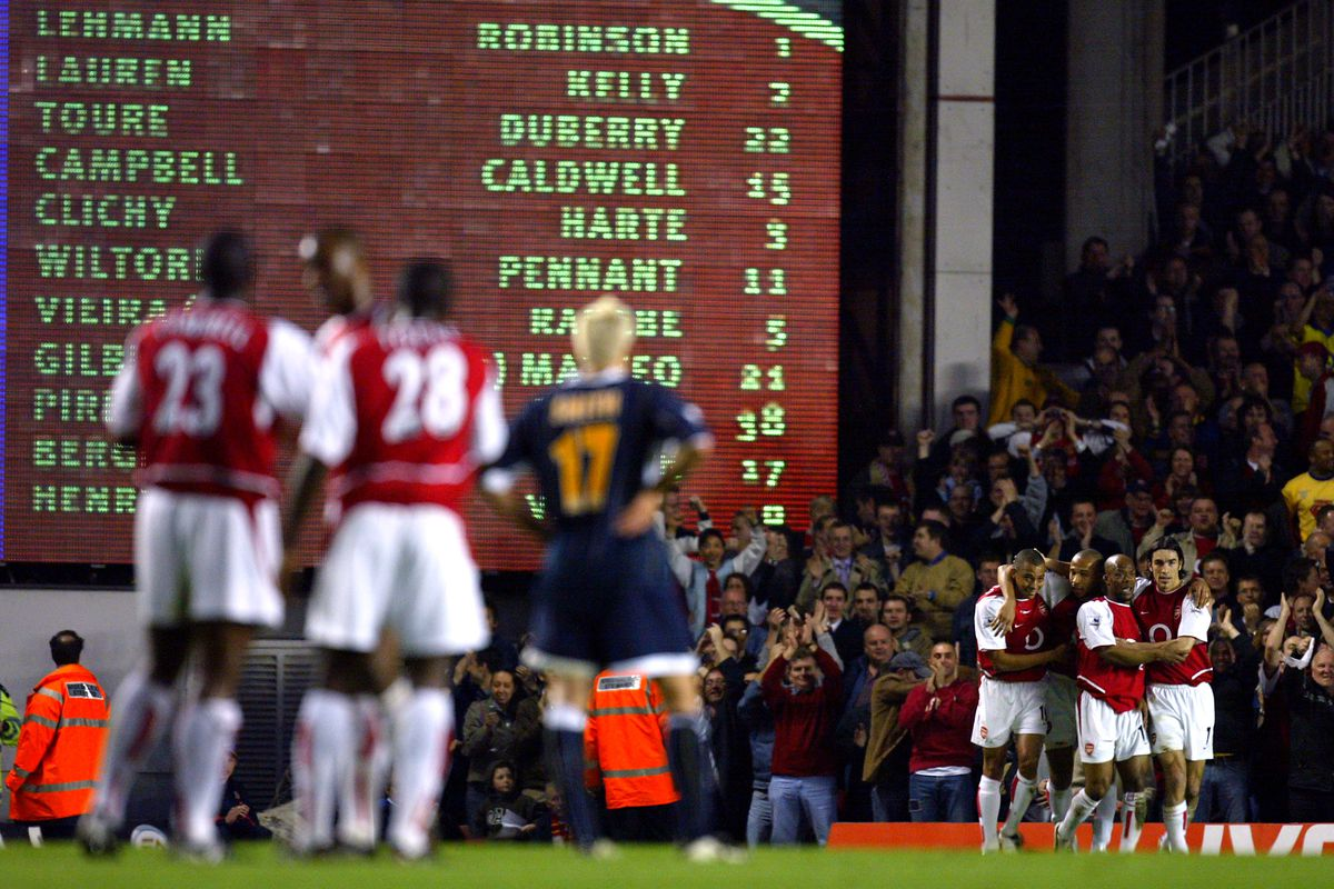 Soccer - FA Barclaycard Premiership - Arsenal v Leeds United