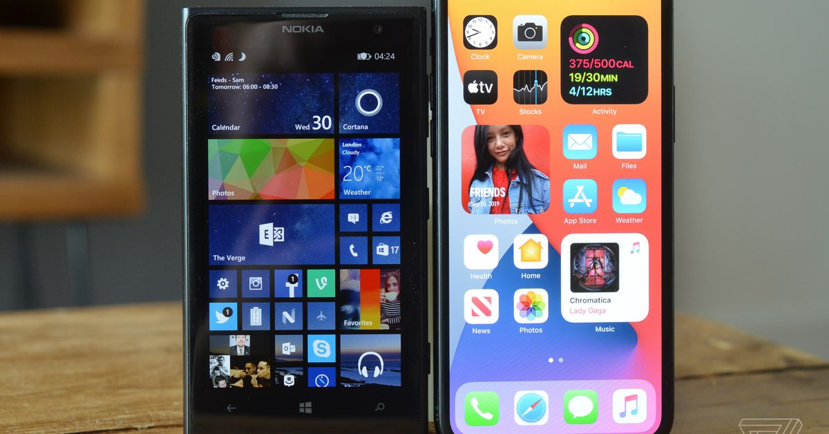 Apple S New Ios 14 Home Screen Brings Windows Phone Live Tiles Back To Life Armenian American Reporter