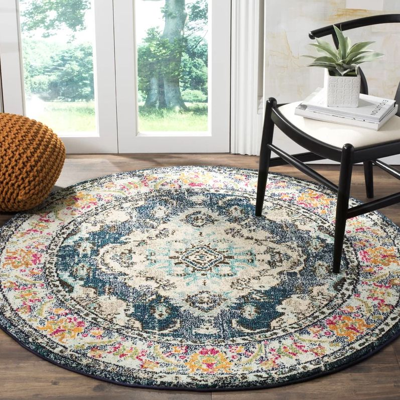 Newburyport Orange Navy Blue Area Rug 10299 Usually 23899 Plus An Extra 30 Percent Off With Code CYBER30 Birch Lane