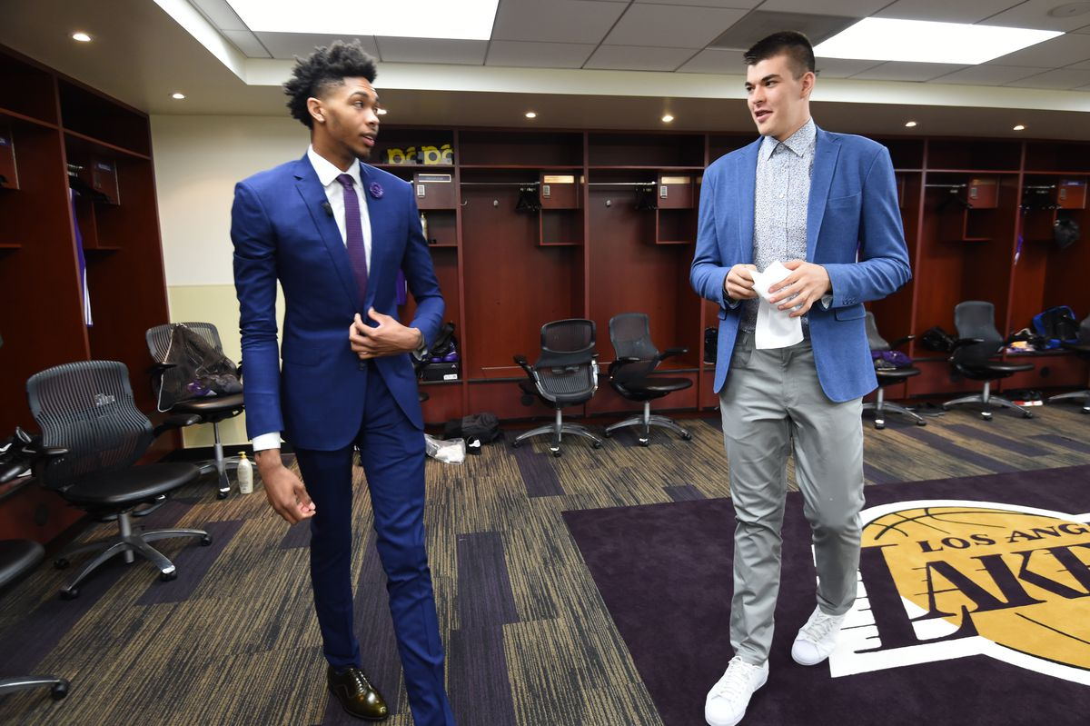 Brandon Ingram and Ivica Zubac Introductory Press Conference