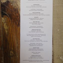 """The menu. Click <a href=""""http://ny.eater.com/uploads/MOFDmenularge.jpg"""" rel=""""nofollow"""">here</a> to enlarge."""