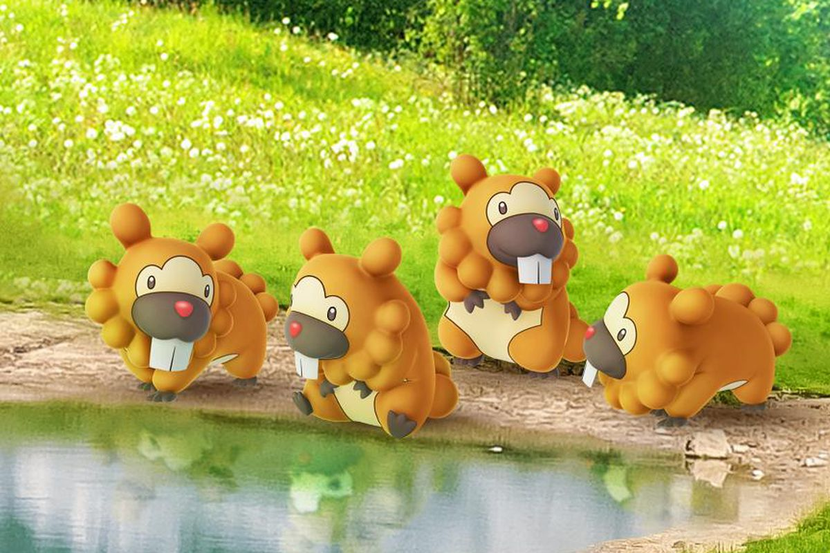 Pokémon Go leans hard into Bidoof meme, now that it finally