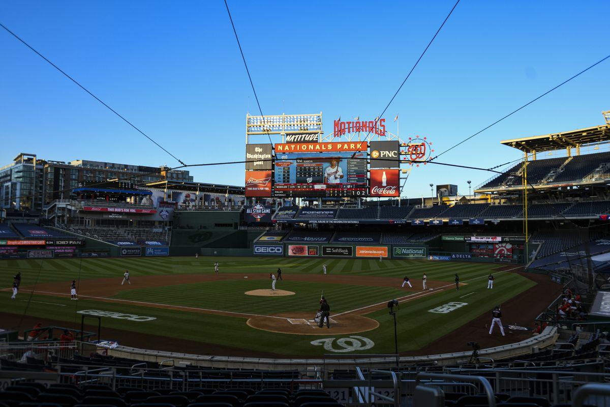 MLB: SEP 21 Phillies at Nationals