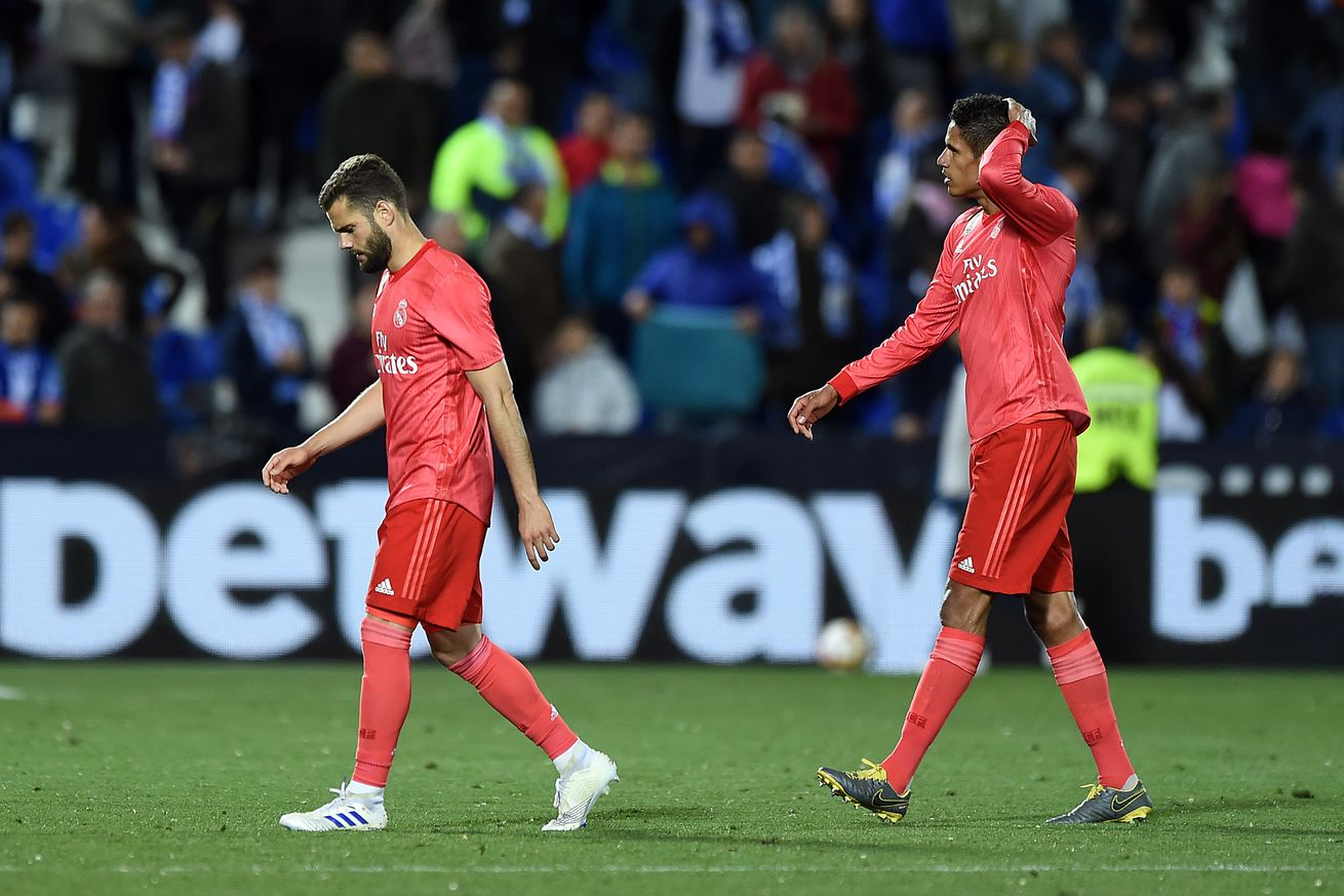 La Liga Player Ratings: Leganés 1-1 Real Madrid