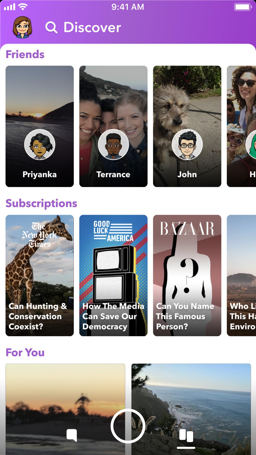 Ephemeral media as seen on snapchat stories