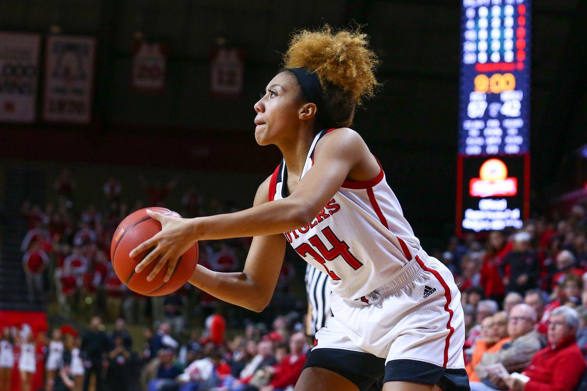 COLLEGE BASKETBALL: JAN 20 Women's Michigan State at Rutgers