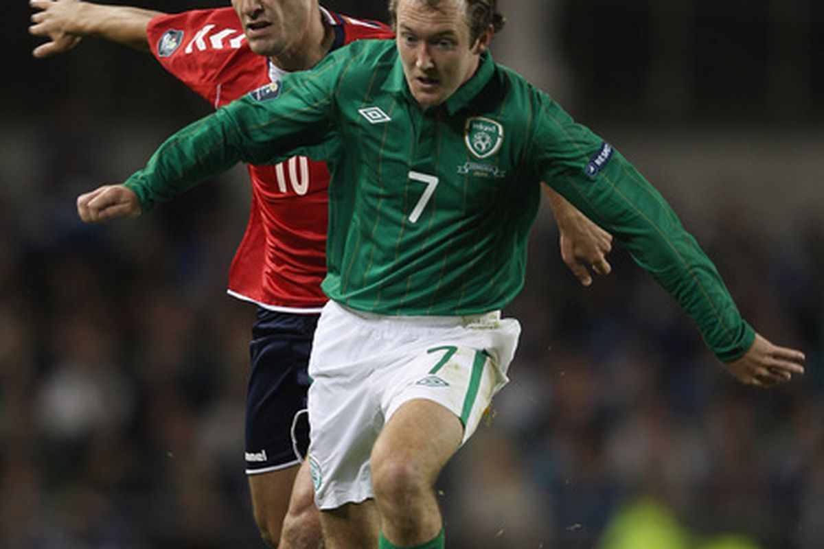 Aiden McGeady emerging as a top target for SAFC? That's what the papers say.