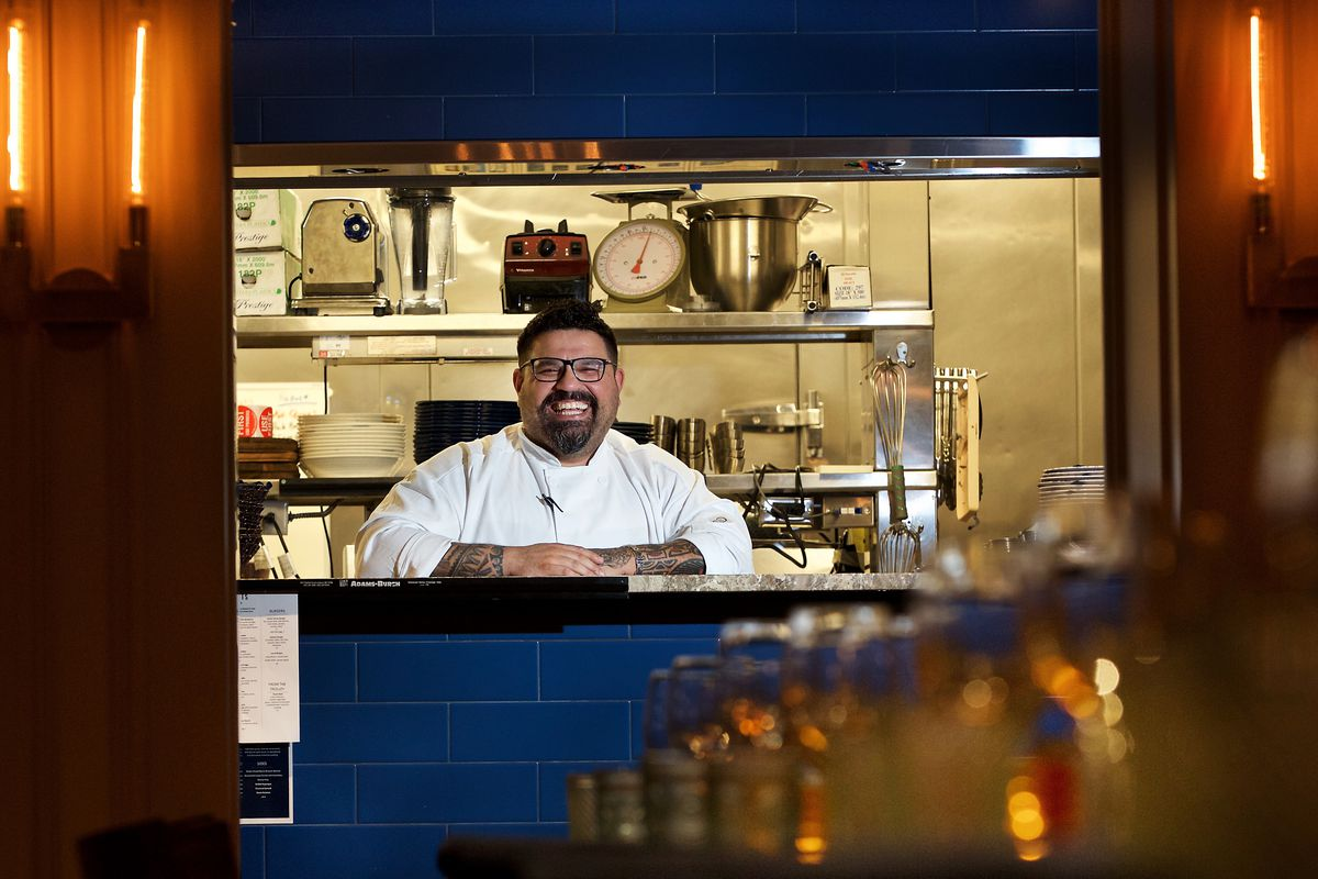Chef Will Artley, shown here at short-lived Scotts, will oversee pizza production at Hank & Mitzi's