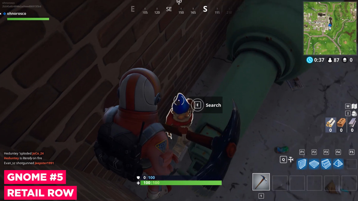 epic games - where is the haunted house in fortnite