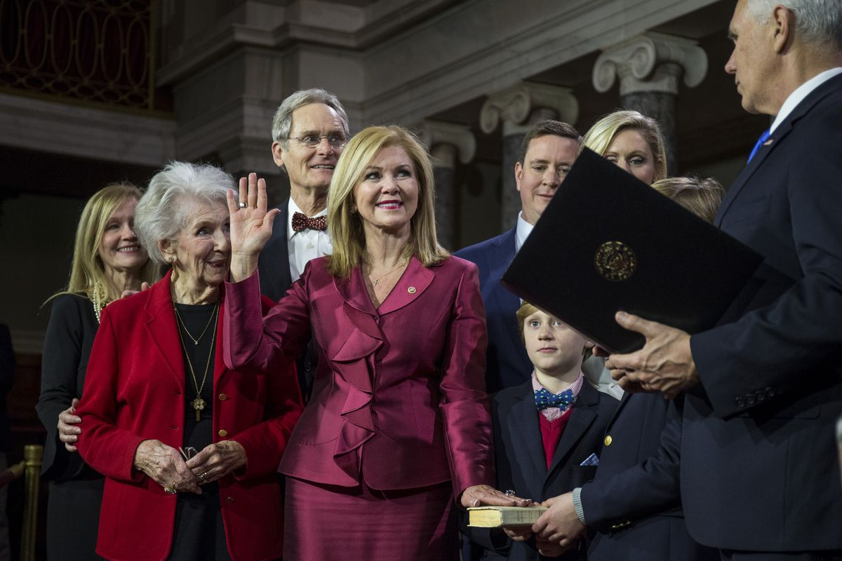 Newly-Elected Senators Are Ceremonially Sworn In